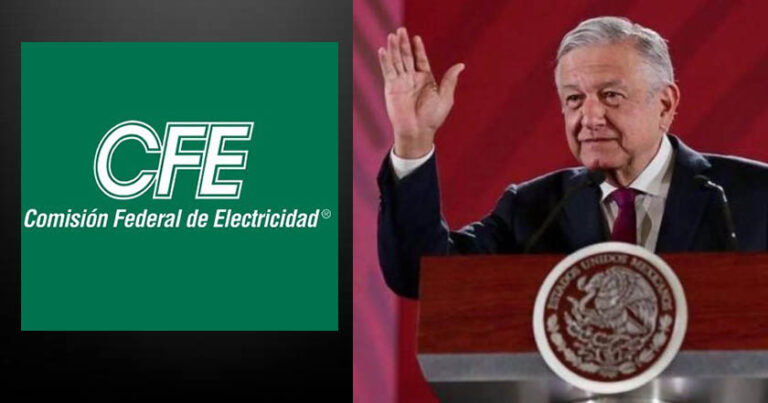 AMLO defends CFE from being blamed when the energy crisis was generated in the US