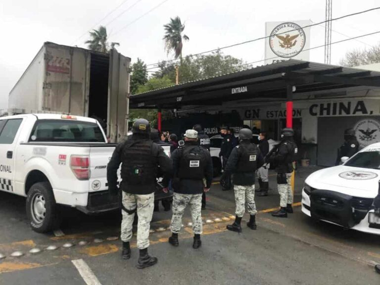 Truck carrying Central American migrants stopped in Nuevo Leon