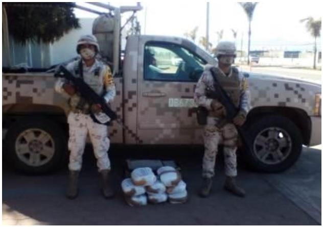 Mexican Army seizes drug shipment in Ensenada, Baja California