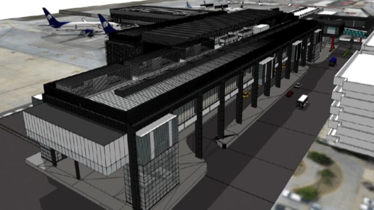 Tijuana's CBX will double in size with the new Passenger Processing Building