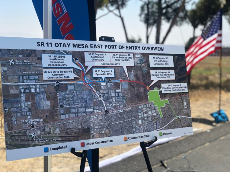 This is how the new gate between Tijuana and San Diego will work, which guarantees faster crossings