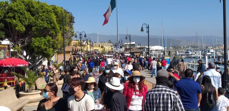 Ensenada and La Misión beaches are saturated, visitors ignore protocols